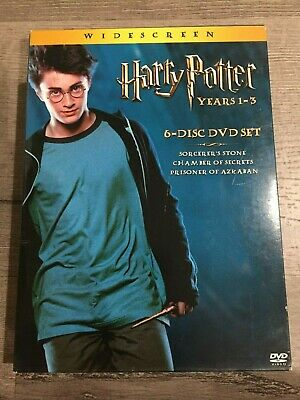 Harry Potter Collection (DVD, 2004, 6-Disc) Years 1 thru 3