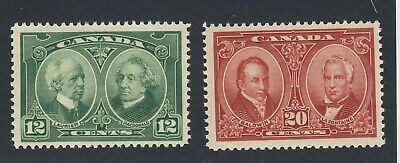 2x MNH Confederation stamps #147-12c & #148-20c VF Guide Value = $120.00