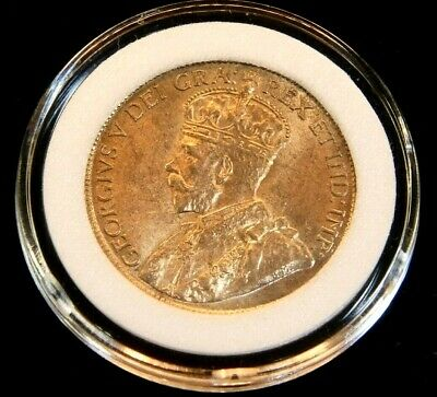 1916 Canada Large Cent Gem BU Bright Red Great Luster in Airtight Cap #CG11