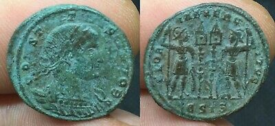 Unresearched Roman Constantine Reduced Bronze Follis Ae3 - 306/337 Ad