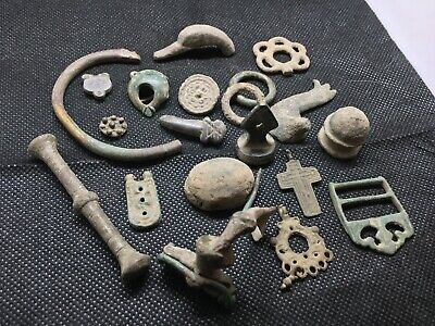 LOT OF PREHISTORIC ANCIENT MEDIEVAL CELTIC ROMAN VIKING ARTIFACTS FOR RESEARCH c