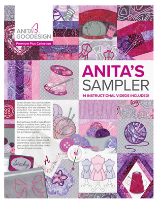 Anita Goodesign - Anita's Sampler With Book