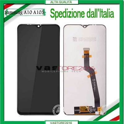 Display Lcd Samsung Galaxy A10 2018 Sm A105Fn A105Ds Touch Screen Schermo Vetro