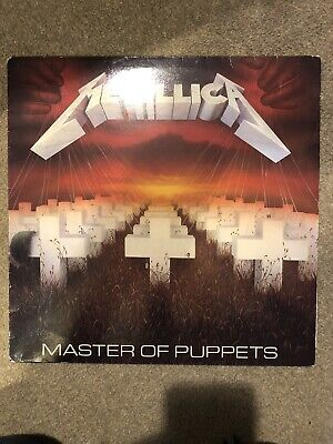 METALLICA - Master Of Puppets LP (Music For Nations / MFN 60) 1st Pressing vinyl