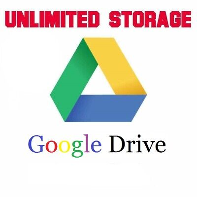 Unlimited Google Drive Storage/ Team Drive (For Existing Gmail)