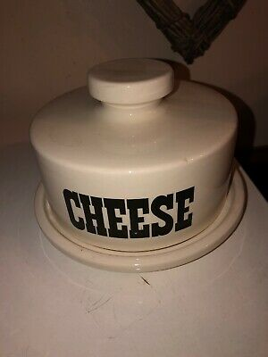 TG Green Cheese Dish With Cover