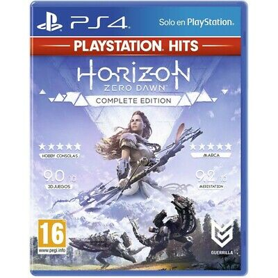 Horizon Zero Dawn Complete Edition for PS4 PLAYSTATION 4 Italian Guaranteed Hits