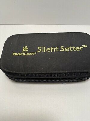 Provo Craft Silent Setter Hammerless Eyelet Tool NEW IN ZIP CASE FREE SHIP F100
