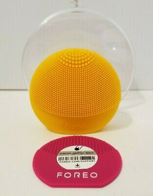 Foreo Luna Fofo Facial Cleansing Brush Sunflower Yellow Originally $89 Used Once
