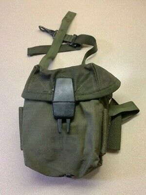 Vietnam Era US Military Ammo Pouch Case Small Arms Canvas M16 w/ Alice Clips