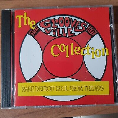 The Groovesville Collection Rare Goldmine Detroit Northern Soul Cd 24 Tx