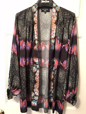 ETRO  Floral Cover Up Made In Italy Neiman Marcus  Size 44