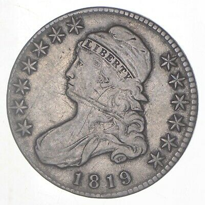 1819 Capped Bust Half Dollar *6297