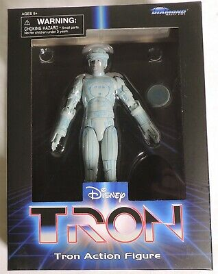 """D049. Disney's TRON 7.5"""" Tall Action Figure from Diamond Select Toys (2019)"""