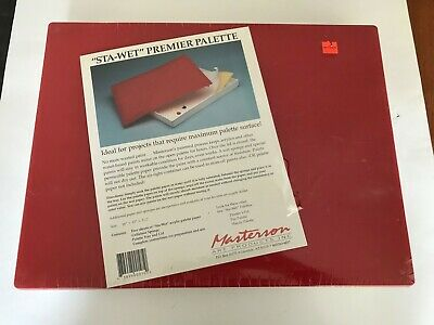 MASTERSON ART PRODUCTS 1051 STA-WET PREMIER ACRYLIC FILM 12X16 30 SHEETS