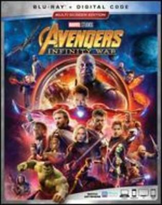 The Avengers: Infinity War (Blu-ray, 2018)