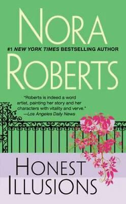 Honest Illusions by Nora Roberts (1993, Paperback) USED