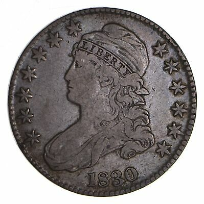 1830 Capped Bust Half Dollar - Circulated *9044