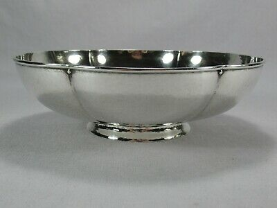 Rare Tiffany & Company Makers Special Hand Work Arts & Crafts Hammered Bowl