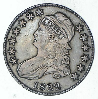1822 Capped Bust Half Dollar - Circulated *9134