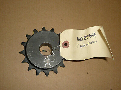 """3//4 Pitch 1 3//16/"""" Finished Bore 60BS15H X 1 3//16  TTN Sprocket 15 Teeth"""