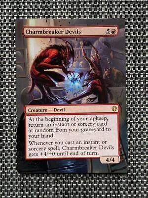 Take the Crown MTG MINT UNPLAYED Charmbreaker Devils  RARE Conspiracy