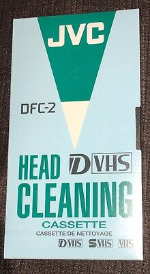 Jvc Dvhs Cleaning Tape. New. Unopened