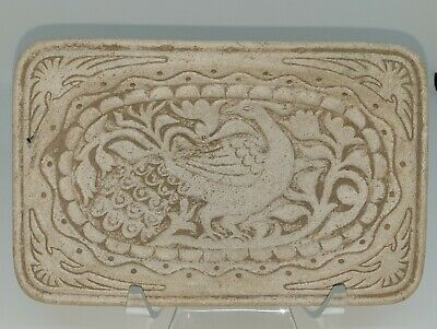 A Very Lovely Unique Ancient Islamic Decorative Plate with a Beautiful Bird