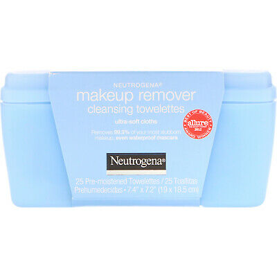 Neutrogena  Makeup Remover Cleansing Towelettes  Ultra-Soft Cloths  25