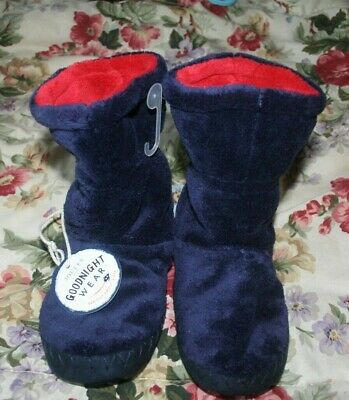 Joules Blue Fluffy Slipper Boots New With Tags Ideal Gift Warm And Soft Slippers