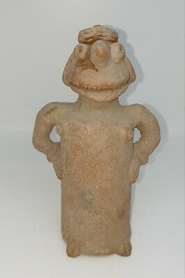 Authentic Ancient Indus valley Harappan Terracotta Fertility Goddess CA. 1800B.