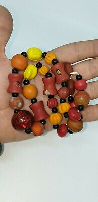 25 Very Lovely Colorful Roman Styled Glass beads