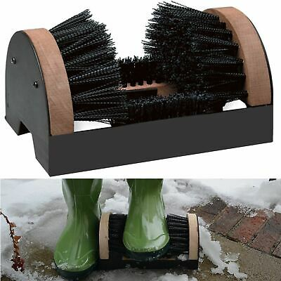 Heavy Duty Shoe Dirt Scraper Brush Scrubber Door Mat Wellington Boot Cleaner New