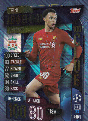 Topps 2019/20 Match Attax EXTRA Champions League Limited C100 Hero Rock Auswahl