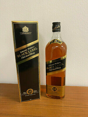 Johnnie Walker BLACK LABLE Old Scotch Whisky - extra special 12 years - 1 Liter