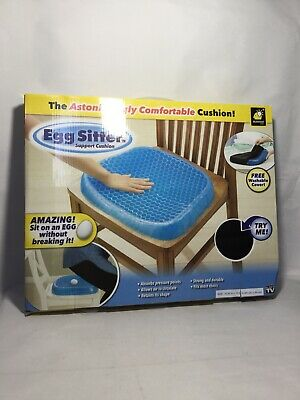 BulbHead Egg Sitter Seat Cushion with Non-Slip Cover, Breathable Honeycomb