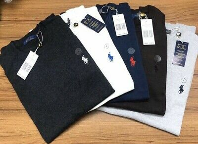 Ralph Lauren crew neck long sleeve 100% cotton jumper sweater