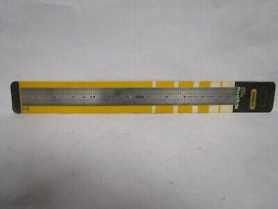 General Tools 1210 12-Inch Center Finding Stainless Rule
