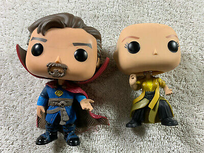 Lot of 2 LOOSE READ! Funko Pop Marvel 169 171 Doctor Strange The Ancient One MCU