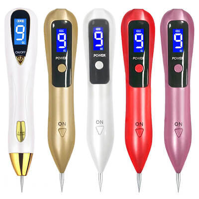 Mole Nevus Removal Pen Wart Plasma Remover Device Electric Laser Tool Facial
