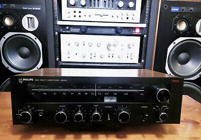 Philips High Fidelity Laboratories 7800 Vintage Stereo Receiver - See Demo 😍🎶