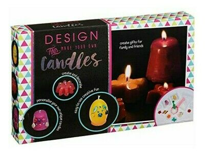 Hobby World Design and Make Your Own Candles Kids Art and Craft Kit