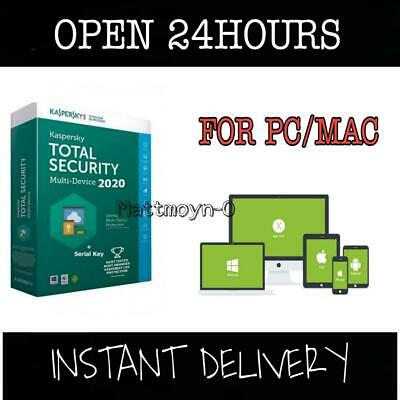 Kaspersky Total Security  1Year 1Pc/Mac Global Activation Keys Instant Delivery