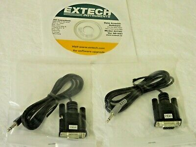 Extech Data Acquisition Software & Cable for Hygro Thermo-Anemometer 407001
