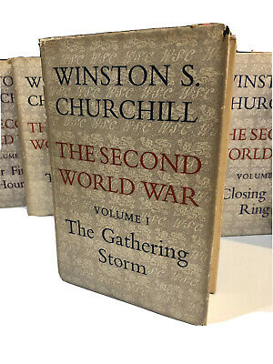 The Second World War Books by Winston S Churchill Volumes 1-6