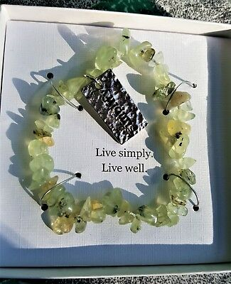 Message of Hope and Renewal NEW Bracelet~LIVE SIMPLY~LIVE WELL~SIMPLIFY~NICE