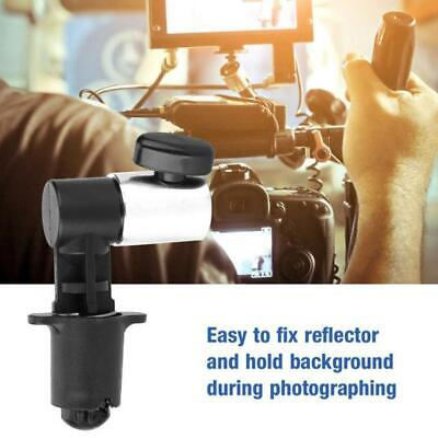 Reflector Holder Stand Light Stand Clips Studio Photography Background Reflector