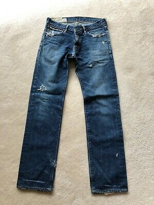 Abercrombie & Fitch Remsen Low Rise Slim Straight Men's Jeans - 30x32 - Bargain!