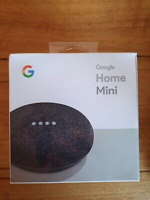 Google Home Mini - charcoal - brand new, still in box sealed