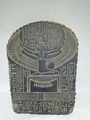 RARE ANCIENT EGYPTIAN ANTIQUE ISIS Stella 1758-1296 BC Isis Tomb (2)